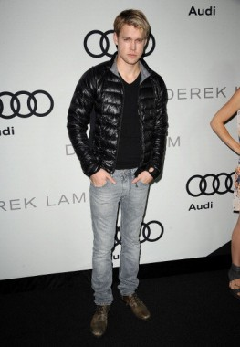 Chord Overstreet wearing the Hybridge Lite Hoody