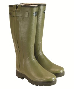 Women's Le Chameau Chasseur Fouree  Wellington Boots