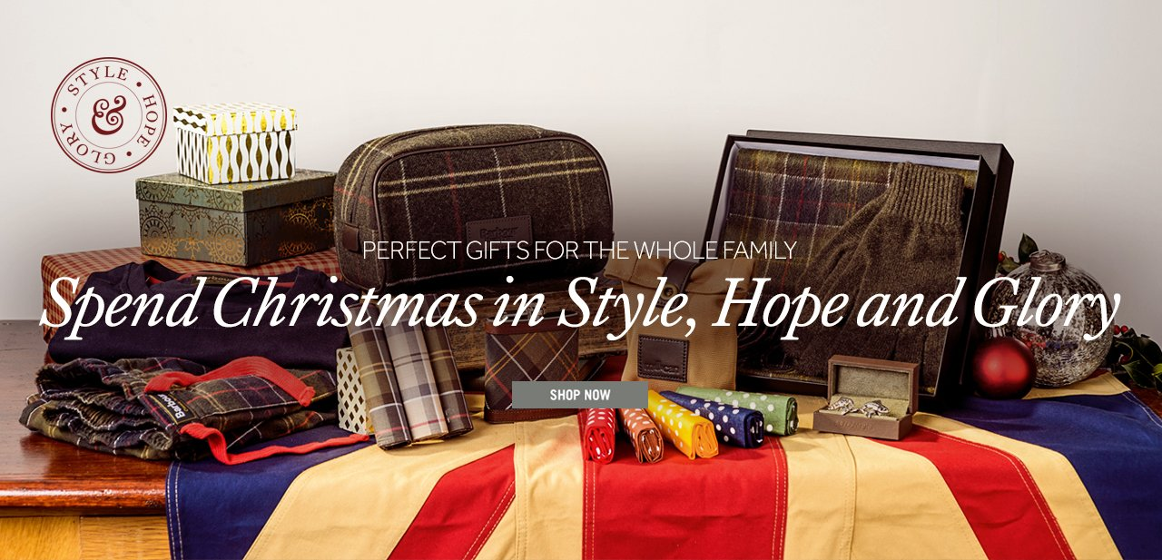 Spend Christmas in Style, Hope & Glory