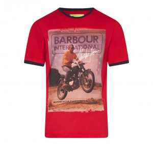 Barbour Steve McQueen Nevada T-Shirt