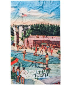 Franklin & Marshall Pool Party Beach Towel