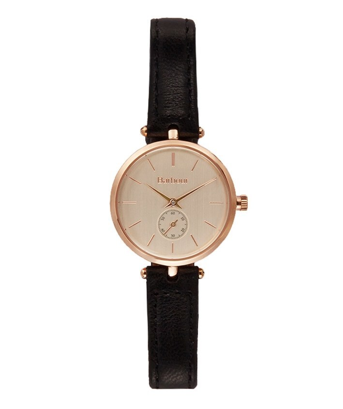 Women's Barbour Lisle Watch with Leather Strap