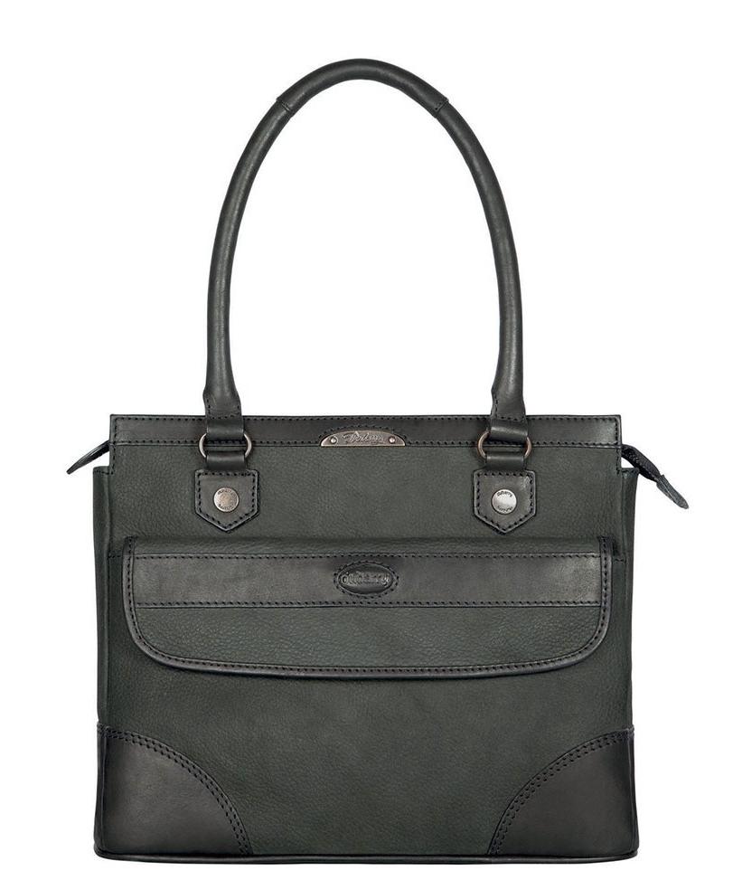 Black Leather Women's Dubarry Straffan Shoulder Bag