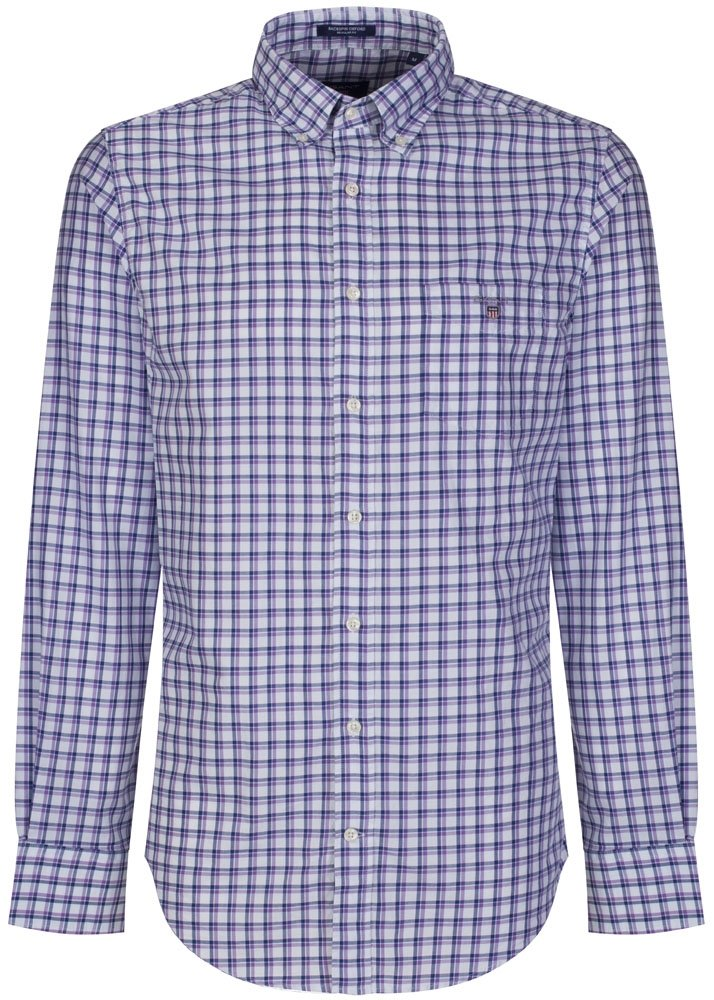 Blue Check Gant Oxford Shirt