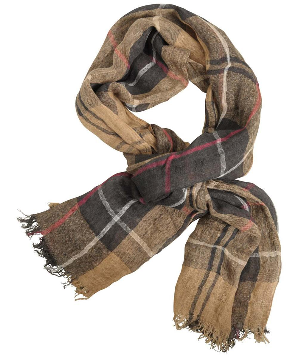 Dress Tartan Barbour Linen Scarf
