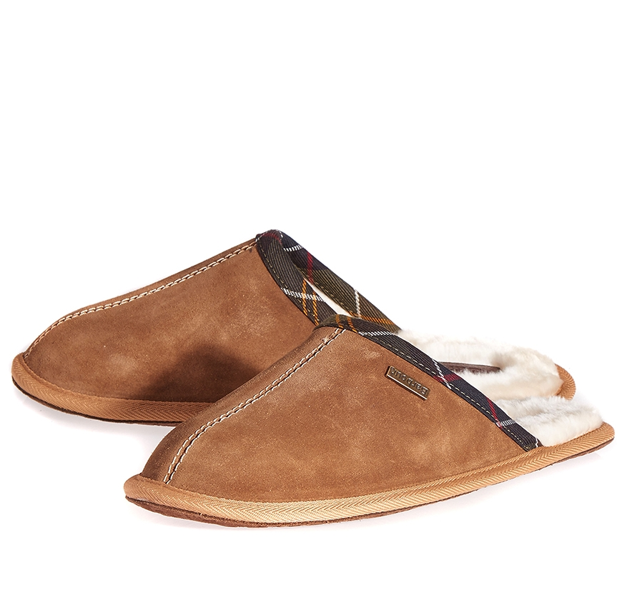 Tan Barbour Leigh Slippers