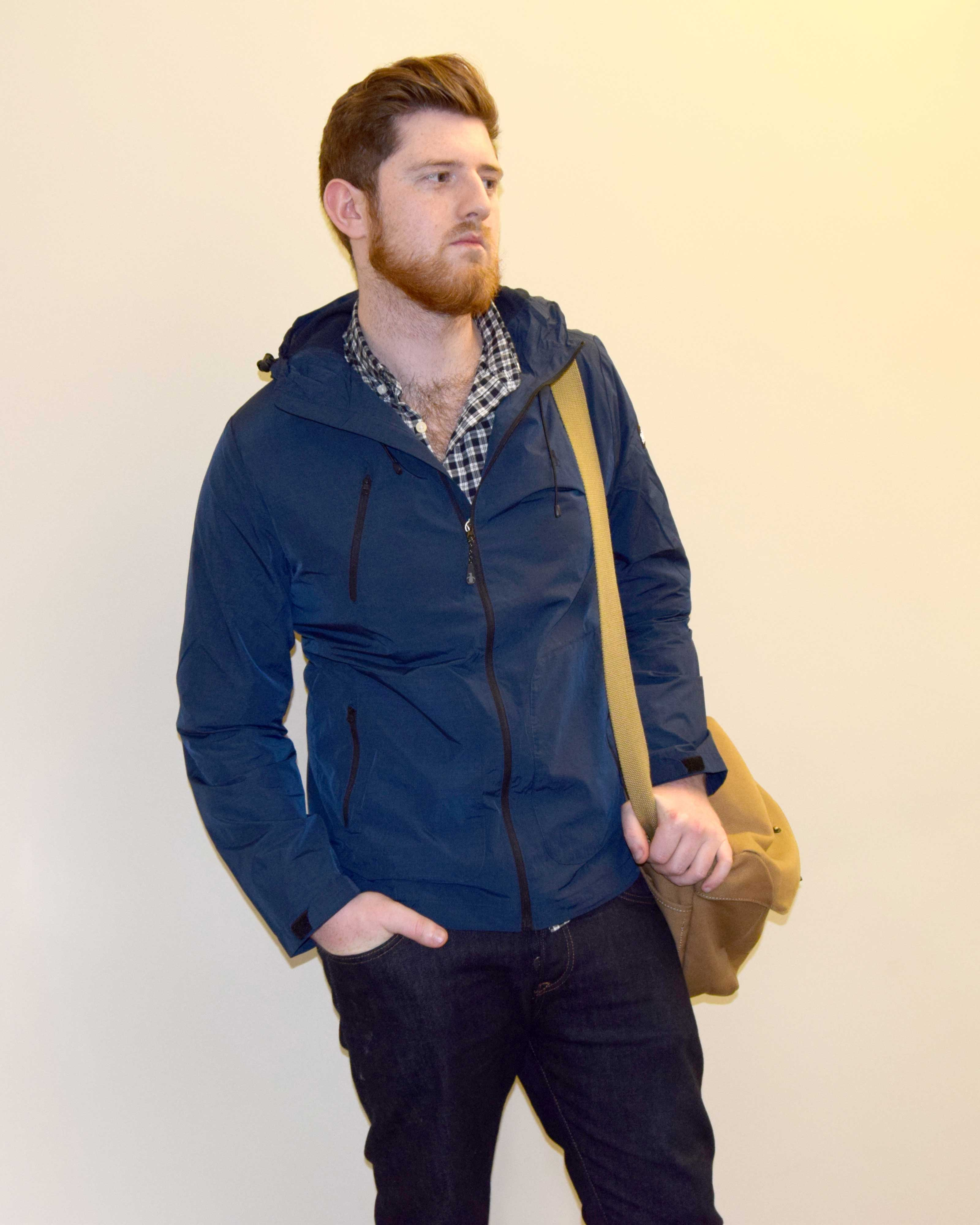 Men's Navu Original Penguin Traxtion Jacket