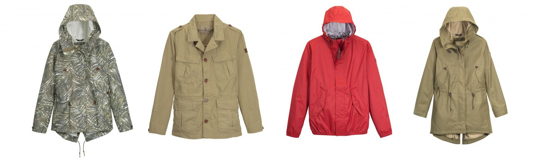 aigle waterproof coats and parkas for men and women