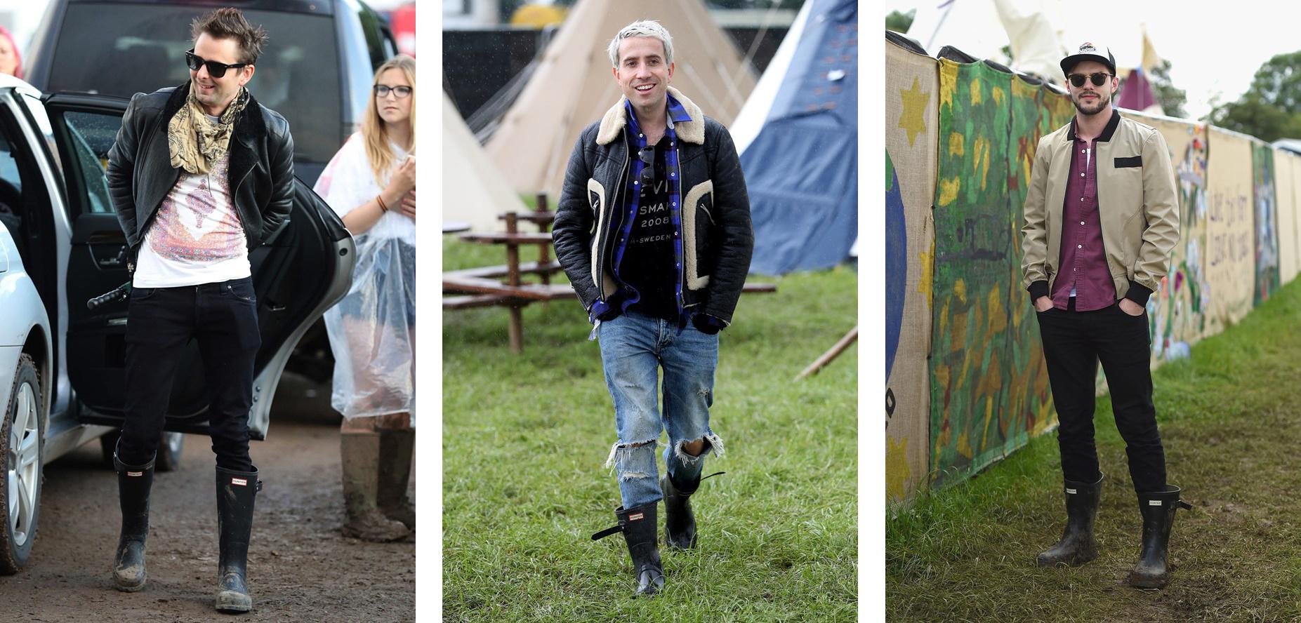 05715206886 Festival Wellies: Hunter Boots at Glastonbury
