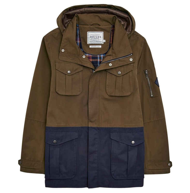 joules men's waterproof jacket
