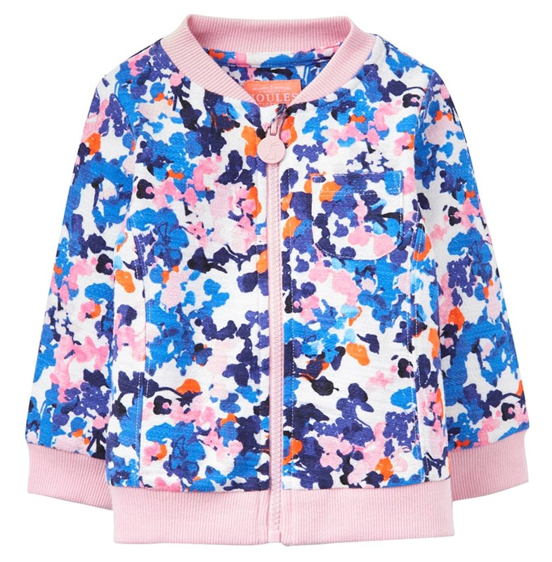 joules toddler colourful cotton jacket