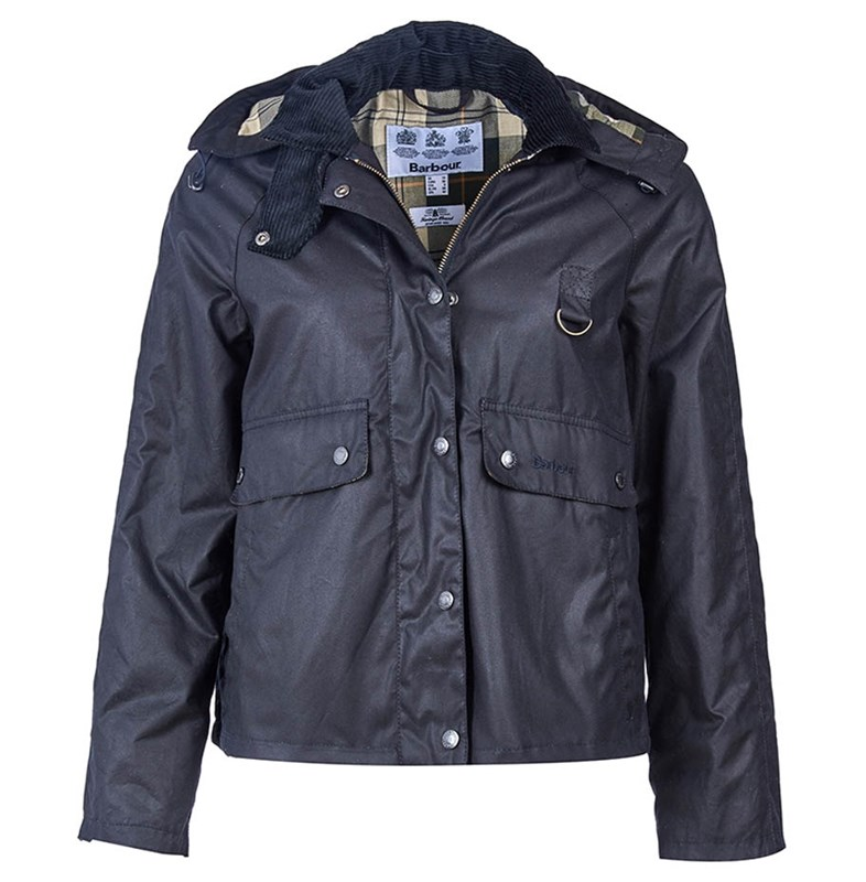 Barbour womens waxed spey jacket