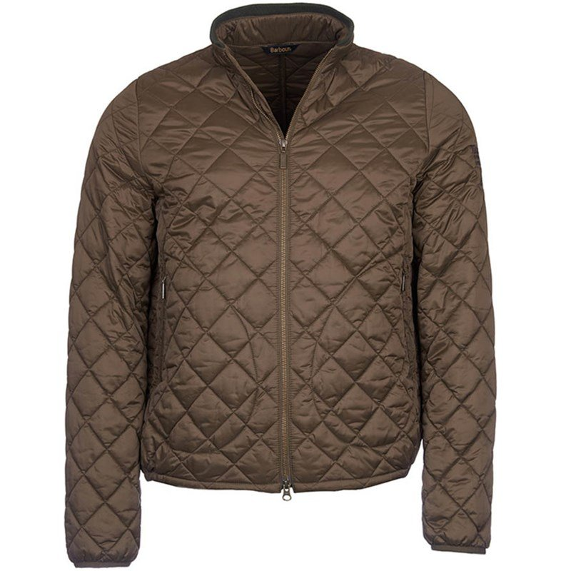 barbour international mens quilted jacket