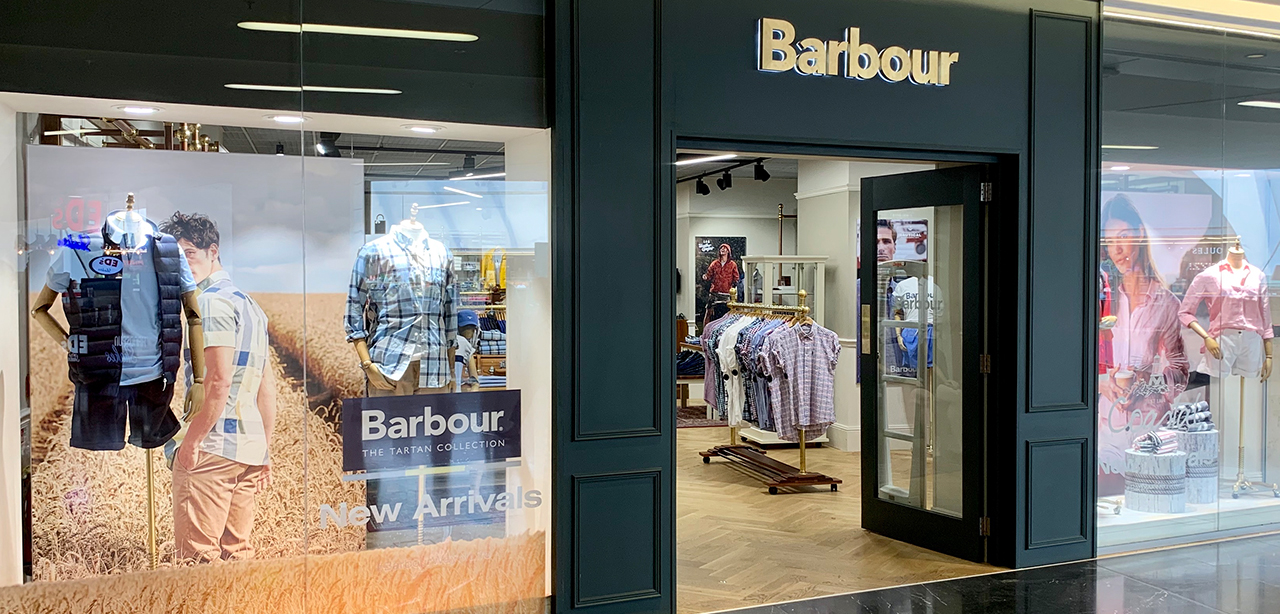 barbour outlets